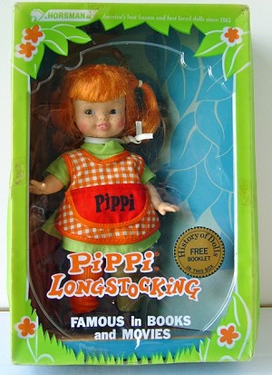 Vintage Pippi Longstocking